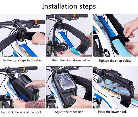 Image of Bicycle Rainproof Touch Screen Bags