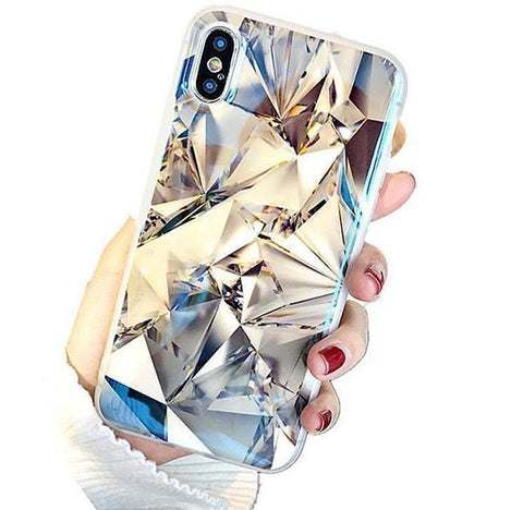 Extra Luxury Real Diamond-Effect Case