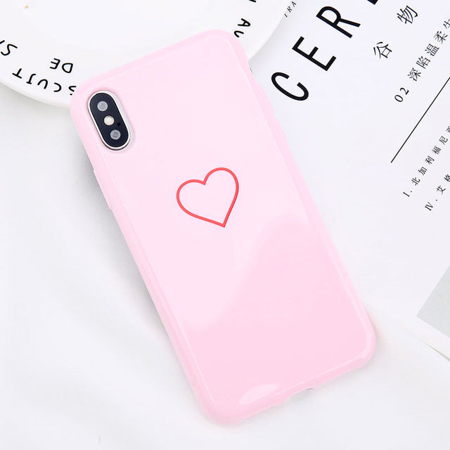 Glossy Crown Soft TPU Case For iPhone & Samsung Galaxy