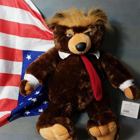 Limited Edition Trumpy Teddy Bear