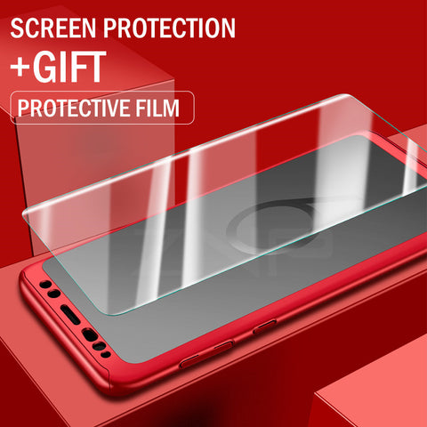 Luxury 360 Full Degree Cover Phone Case For Samsung