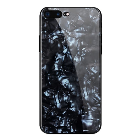 Image of MaxGear Tempered Glass Soft Silicone Bumper Case for iPhone