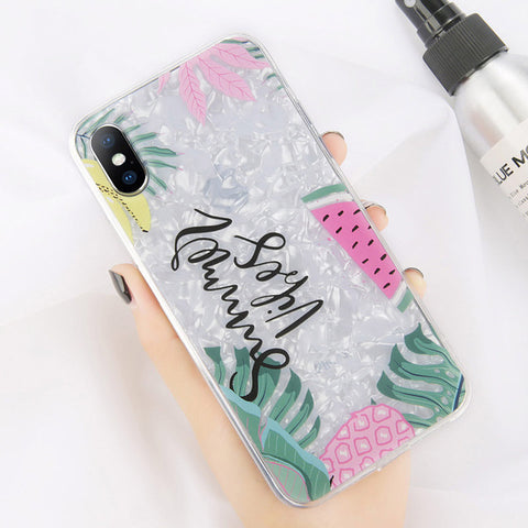Image of Dream Shell Pattern Soft TPU Case For iPhone & Samsung Galaxy