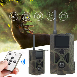 1080 HD Professional Trail Cam 2.0 Night Vision For Outdoor Hunter