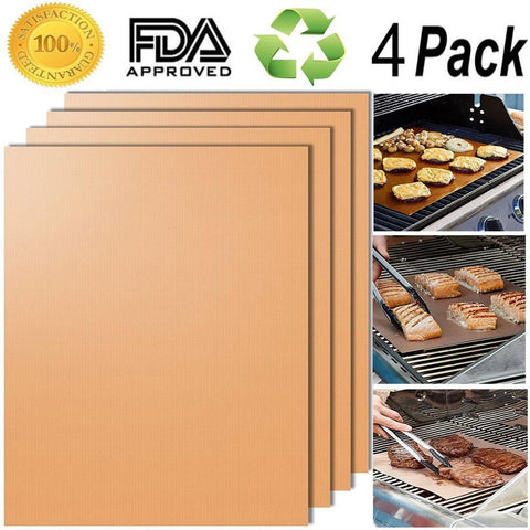 Grill Mat 3 Pack