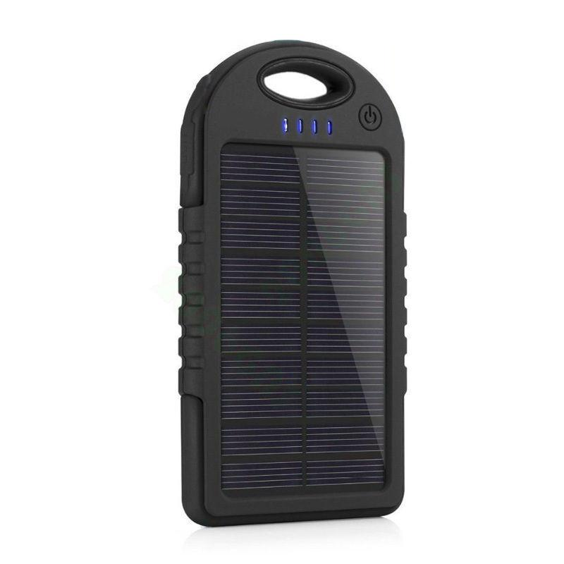 WaterProof Portable Solar Power Bank Charger