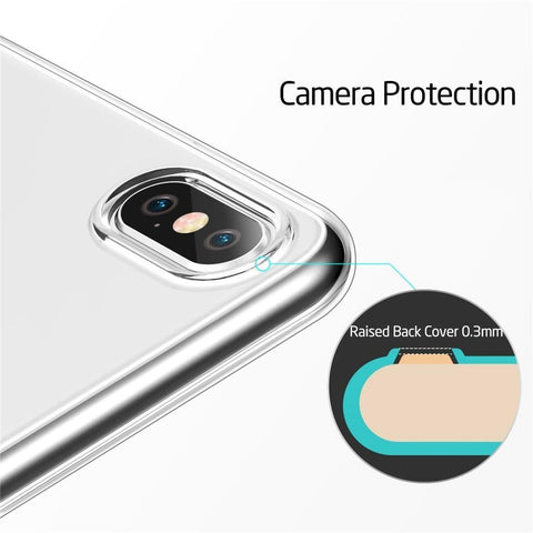 Image of Ultra Thin Clear Gel Case For iPhone