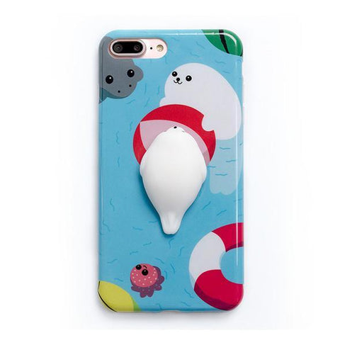 Image of Squishy 3D Animal Case for iPhone