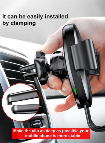 Image of Wireless QI Fast Charger Car Mount