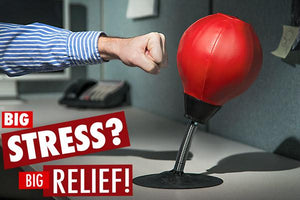 Stress Relief Punching Bag