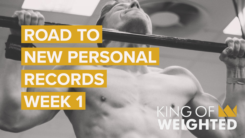 KING OF WEIGHTED || WEEK 1