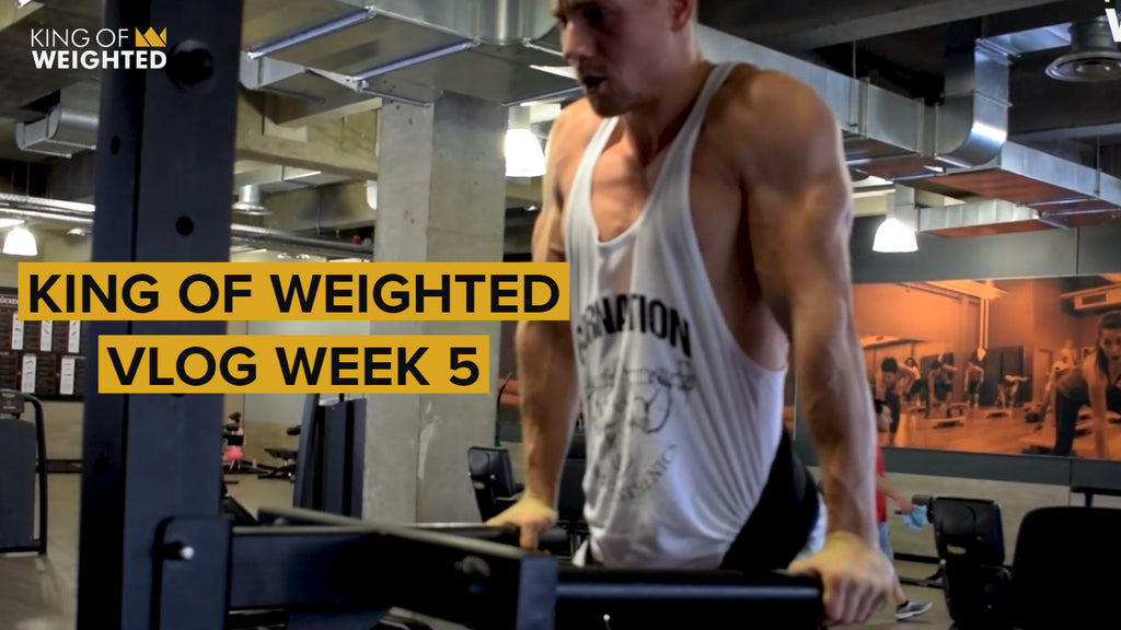 KING OF WEIGHTED || WEEK 5