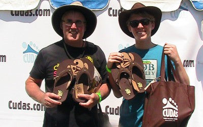CUDAS FOOTWEAR BRINGS WATER SHOES AND SANDALS TO MUSIC FESTIVALS