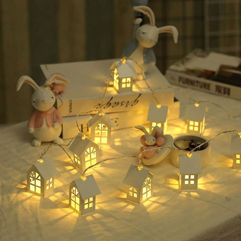 LED Garland House String Light Room Decoration String Lamp  Home Wedding Party Holiday Fairy Lights Novelty Night Light Lamp MYC