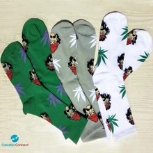 Cheech and Chong High Socks - Celestial connect
