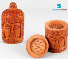 Buddha Wooden Handmade Grinder - Celestial connect
