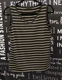 Striped V-Neck - Coming March