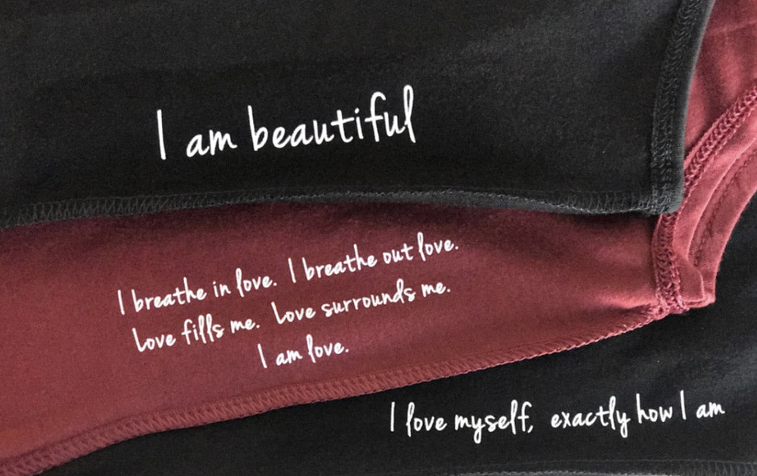 I am beautiful. I breathe in love. I breathe out love