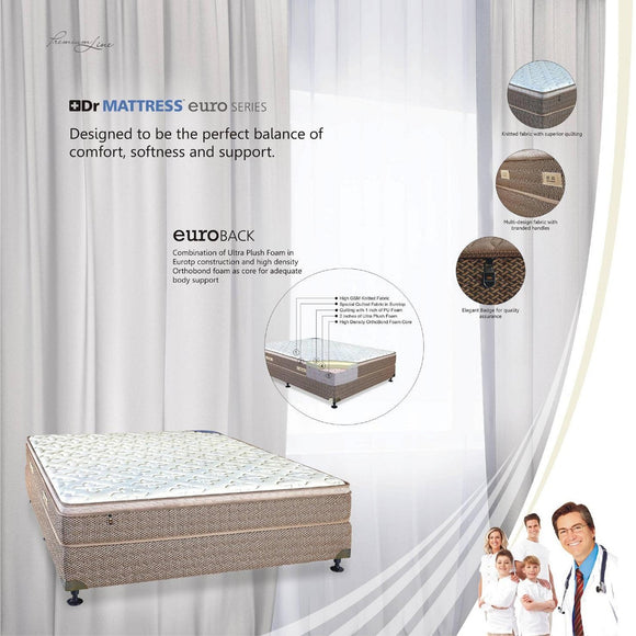 Dr Mattress Euro Back (King Koil)