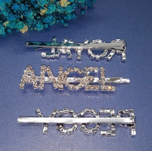 Rhinestone hair clips - 30+ options
