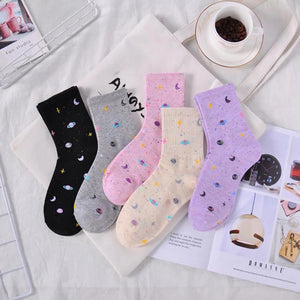 Space socks - 4 colours