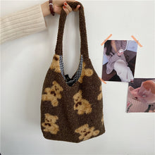 Load image into Gallery viewer, Reversible Teddy Bear Bag - 3 Colours