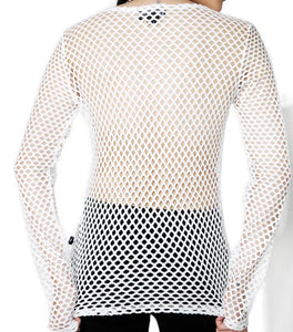 The essential long sleeve fishnet top
