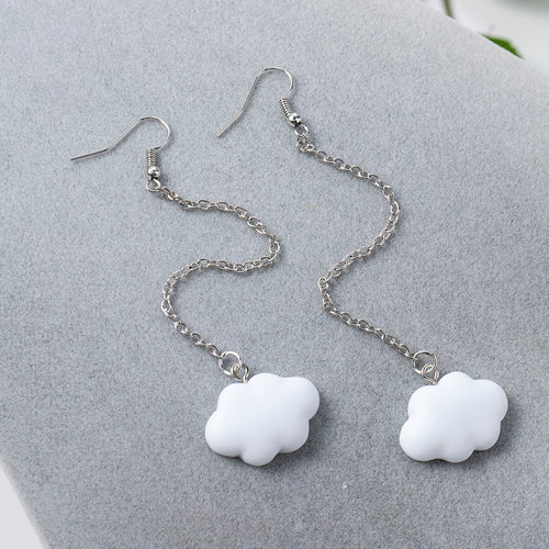 Cloud Chain Earrings - 7 Styles