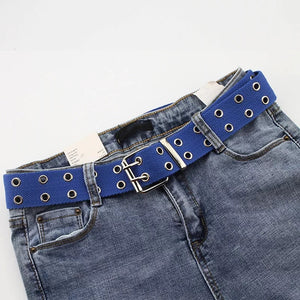 Canvas rivet belt - 7 colours