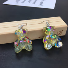 Load image into Gallery viewer, Teddy bear earrings - 6 colours