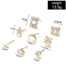 Load image into Gallery viewer, 14 pack of earrings