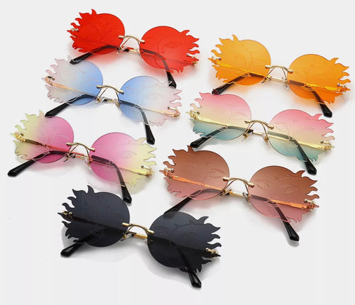 Sun & moon glasses - 7 colours