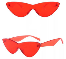 Load image into Gallery viewer, Frameless cat eye glasses - 9 colours