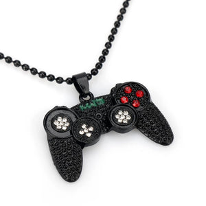Rhinestone controller necklace - 3 colours