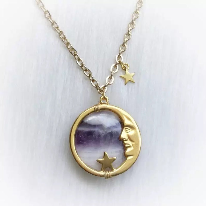 'Man on the Moon' necklace