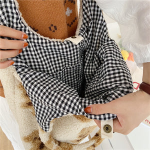 Reversible Teddy Bear Bag - 3 Colours