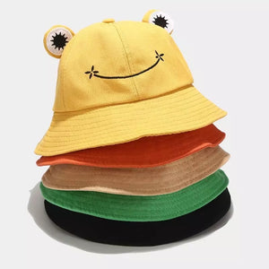 Frog Bucket Hat - 6 Colours
