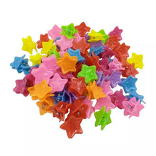 Load image into Gallery viewer, 100 Pieces Hair Clips - Butterfly, shell, heart, star & flower