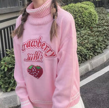 Load image into Gallery viewer, Strawberry Milk Sweater- 2 Colours