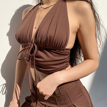 Load image into Gallery viewer, 'Evolved' Halter Top - 3 Colours