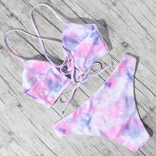 Load image into Gallery viewer, 'Fairy Floss' bikini set