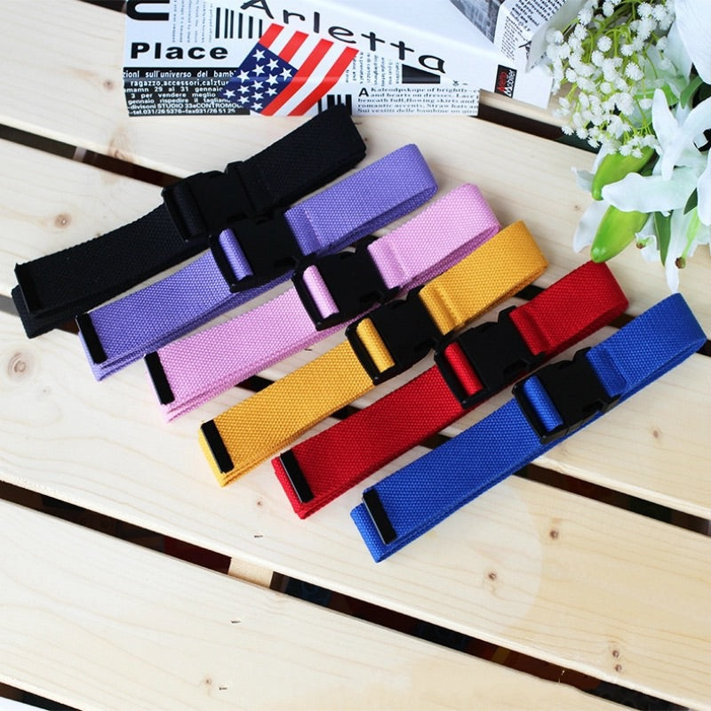 Canvas buckle tactical belt - 7 colours