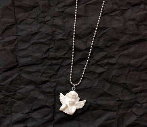 Cupid pendant necklace - 2 styles