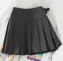 Load image into Gallery viewer, 'Jada' Pleated Mini Skirt - 2 Colours