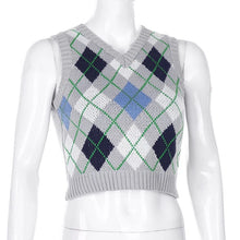 Load image into Gallery viewer, 'Ashley' knitted crop vest - 6 colours