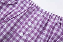 Load image into Gallery viewer, 'Spring day' gingham crop top - 2 colours