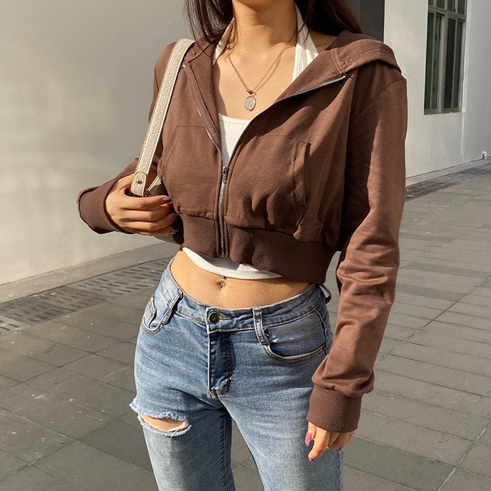 'Morgan' Cropped Jacket - 2 Colours