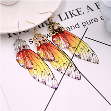 Load image into Gallery viewer, 'Butterfly wings' earrings - 4 colours