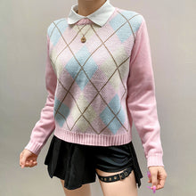 Load image into Gallery viewer, 'Emily' Argyle Knit Sweater
