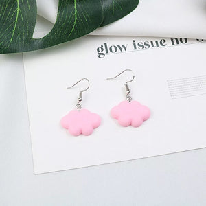 Cloud Watching earrings - 4 colours